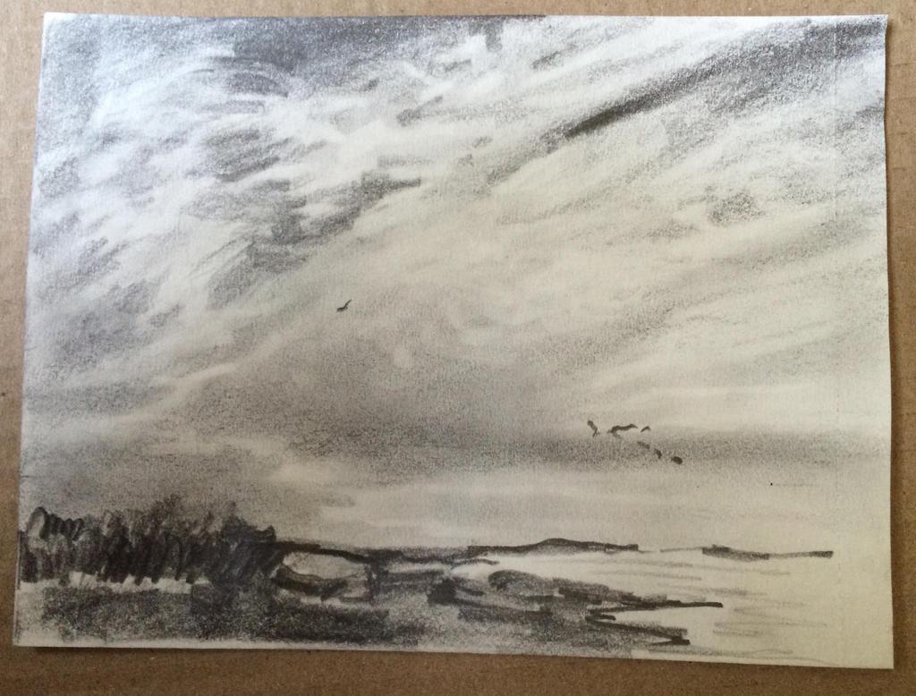 Sky and sea by EarstWindArt