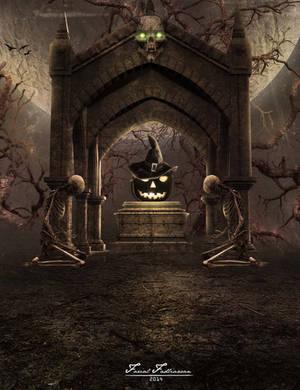 Halloween Skeleton by fadlie666