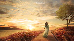 Enjoying The Sunset by fadlie666