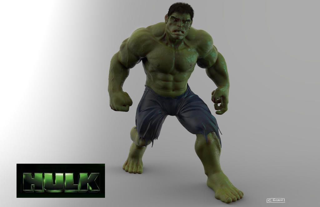Hulk. by THECOOLGEEK