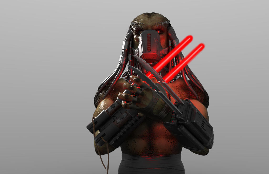 Sith Predator (with mask) by THECOOLGEEK
