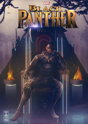 King T'Challa by THECOOLGEEK