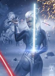 Stormforce: Jedi Master Munro by THECOOLGEEK