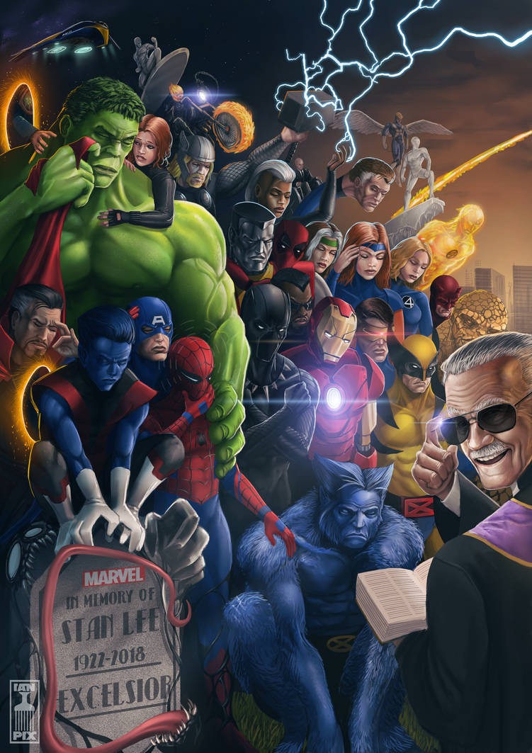 Stan Lee: Final Cameo by THECOOLGEEK