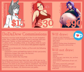 DoDaDew's Commissions [CLOSED]