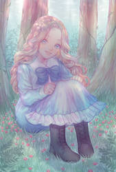 Fan Art: When Marnie Was There by hammie-d