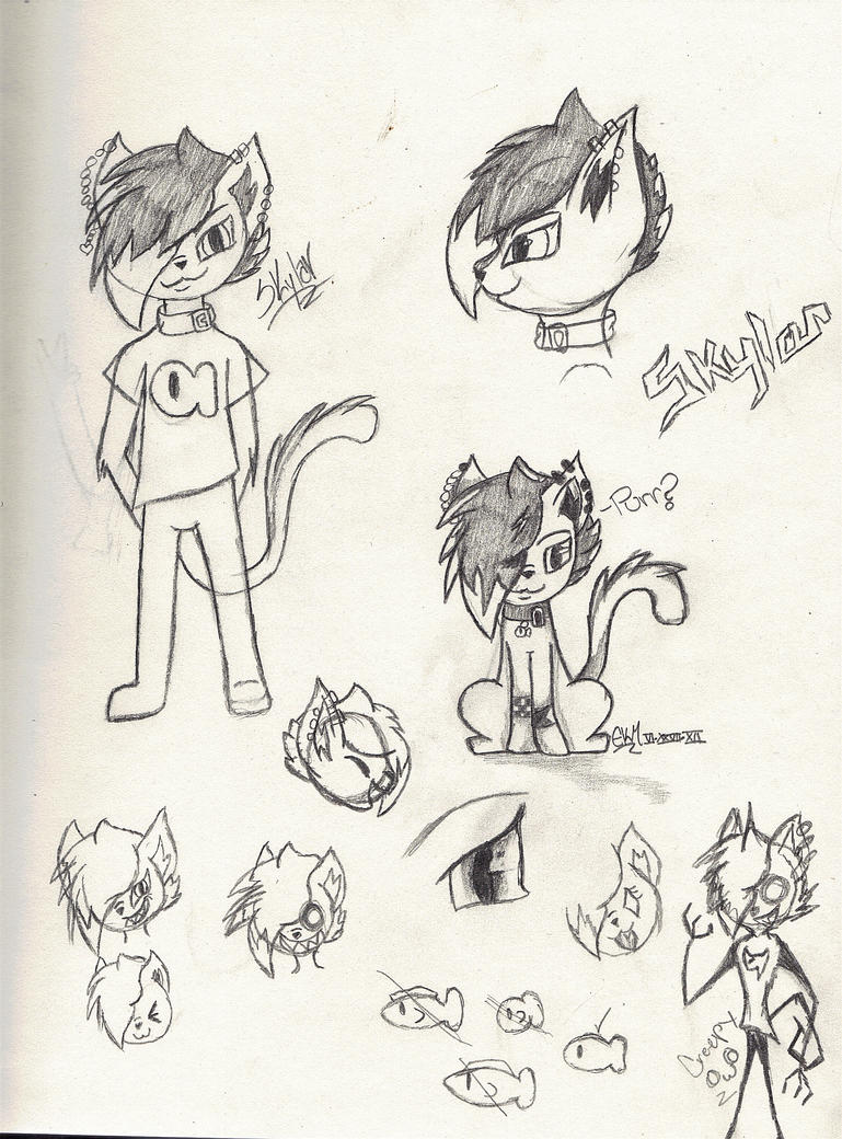 Drawings I do Skylar_dump_by_bleedingpoeticwings-d6jpaxl