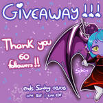 Giveaway!!! by SphiraDraws