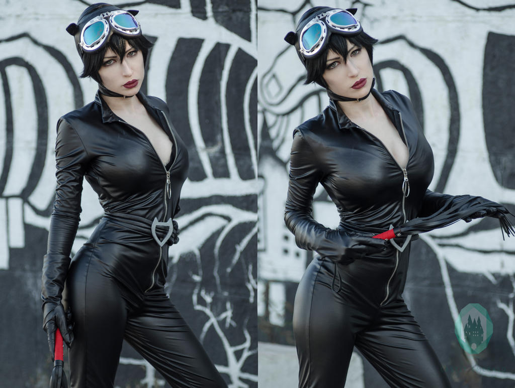 Catwoman cosplay costume by CastleEmerald on DeviantArt