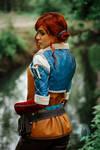 Triss Merigold cosplay costume