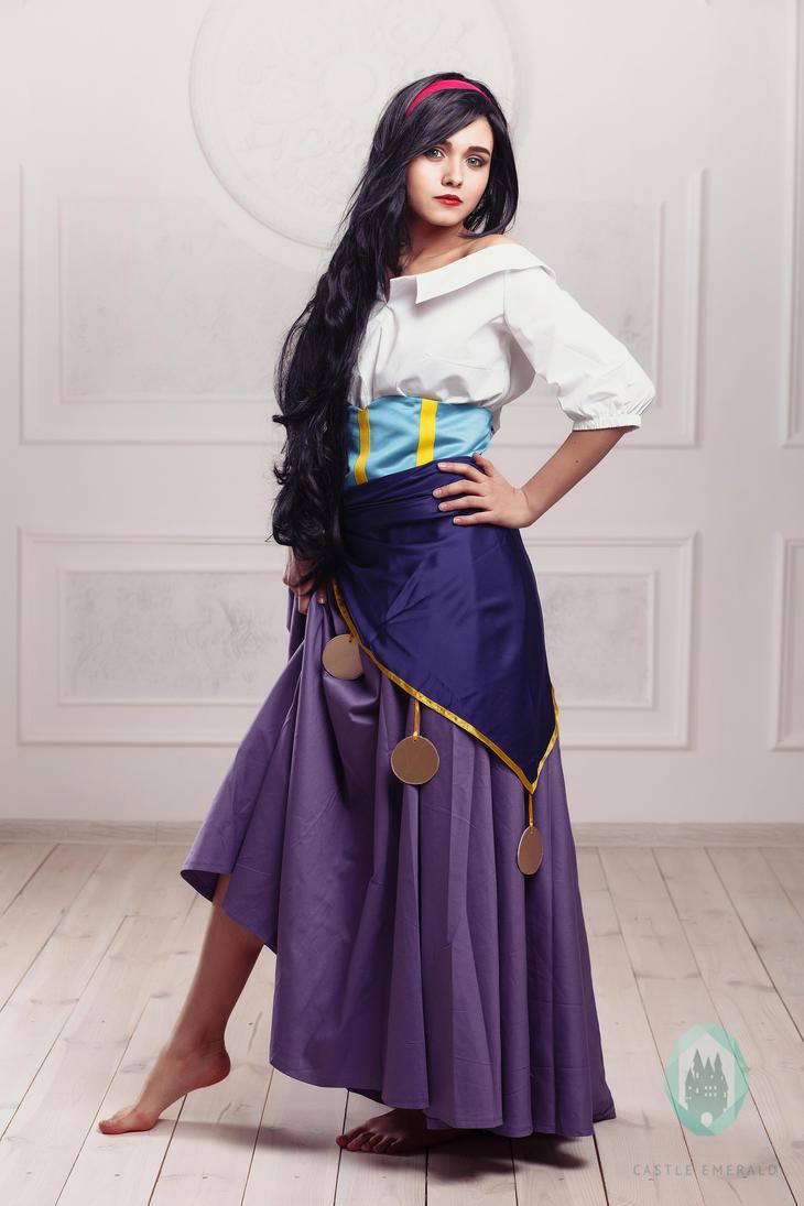 esmeralda cosplay costume by castleemerald on deviantart