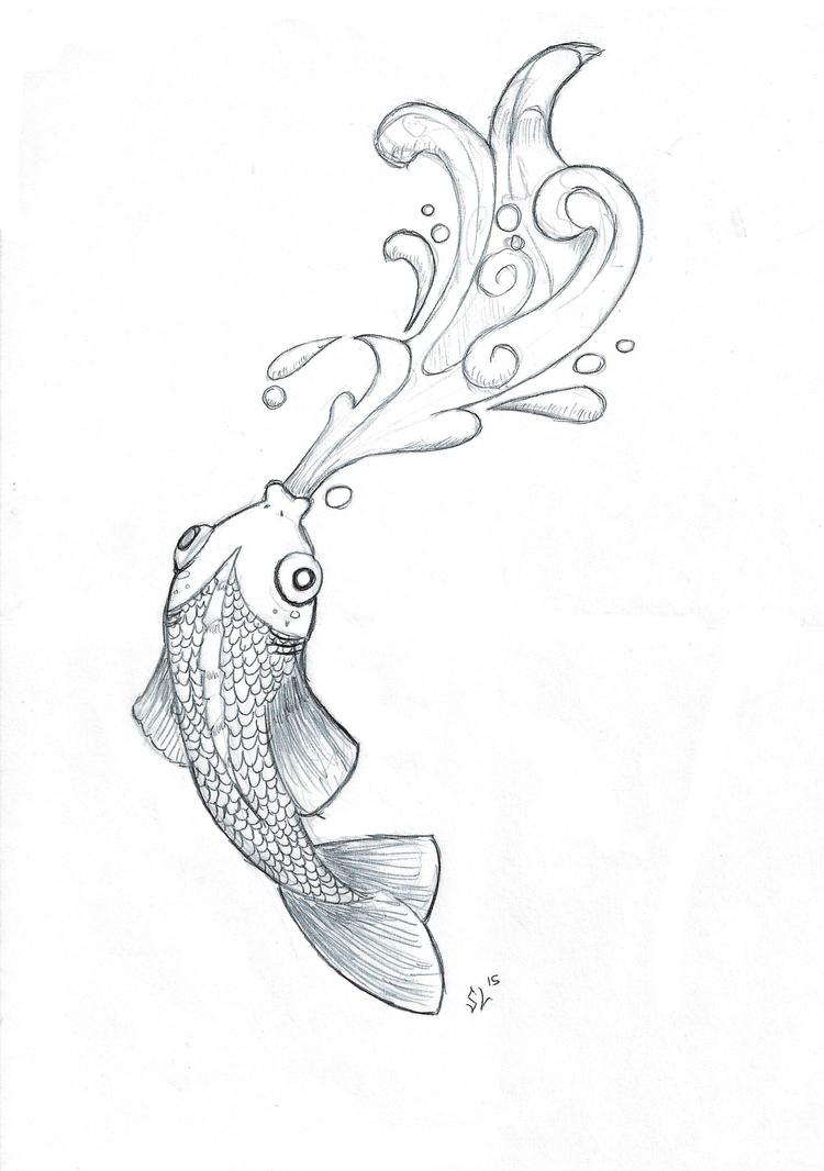 Fish Doodle by Marsupialbandit