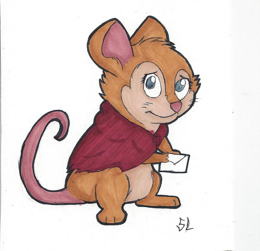 Chibi Mrs. Brisby by Marsupialbandit