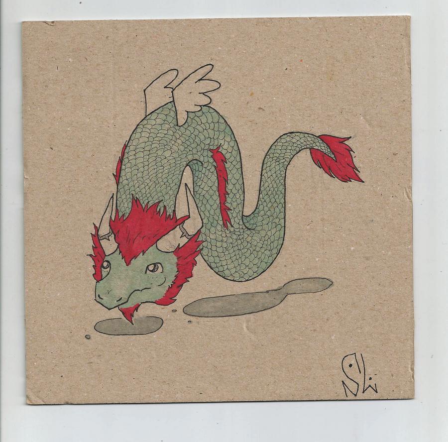 Dragon Doodle by Marsupialbandit