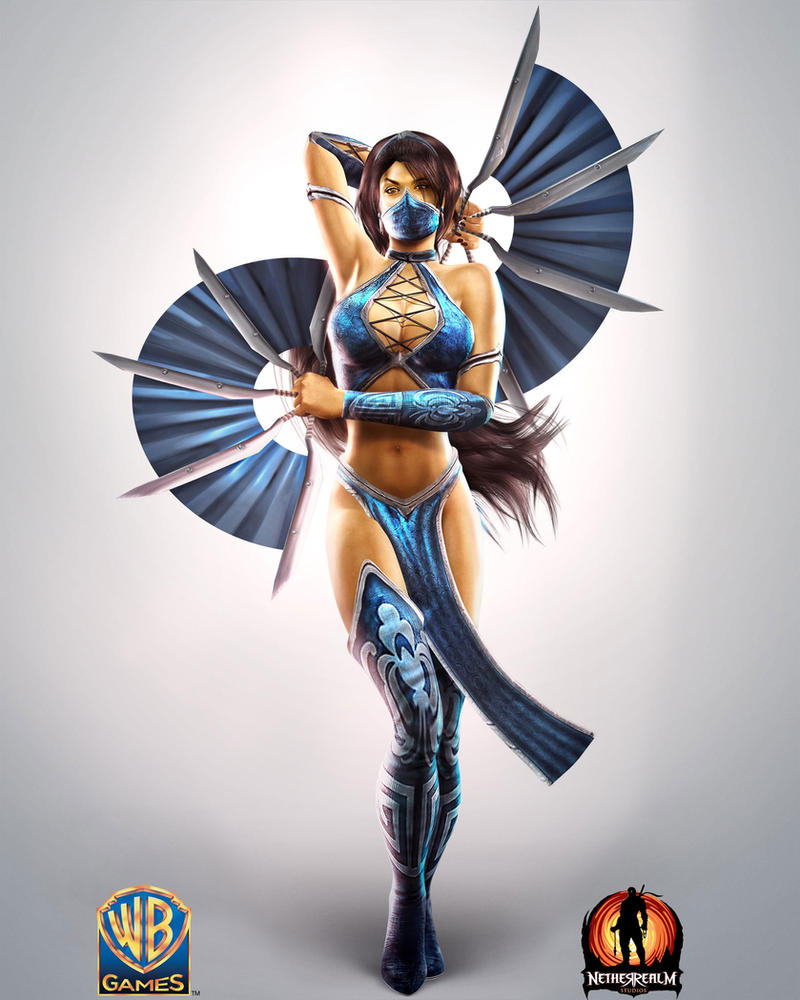 MK9 Kitana Official Render by disturbedkorea