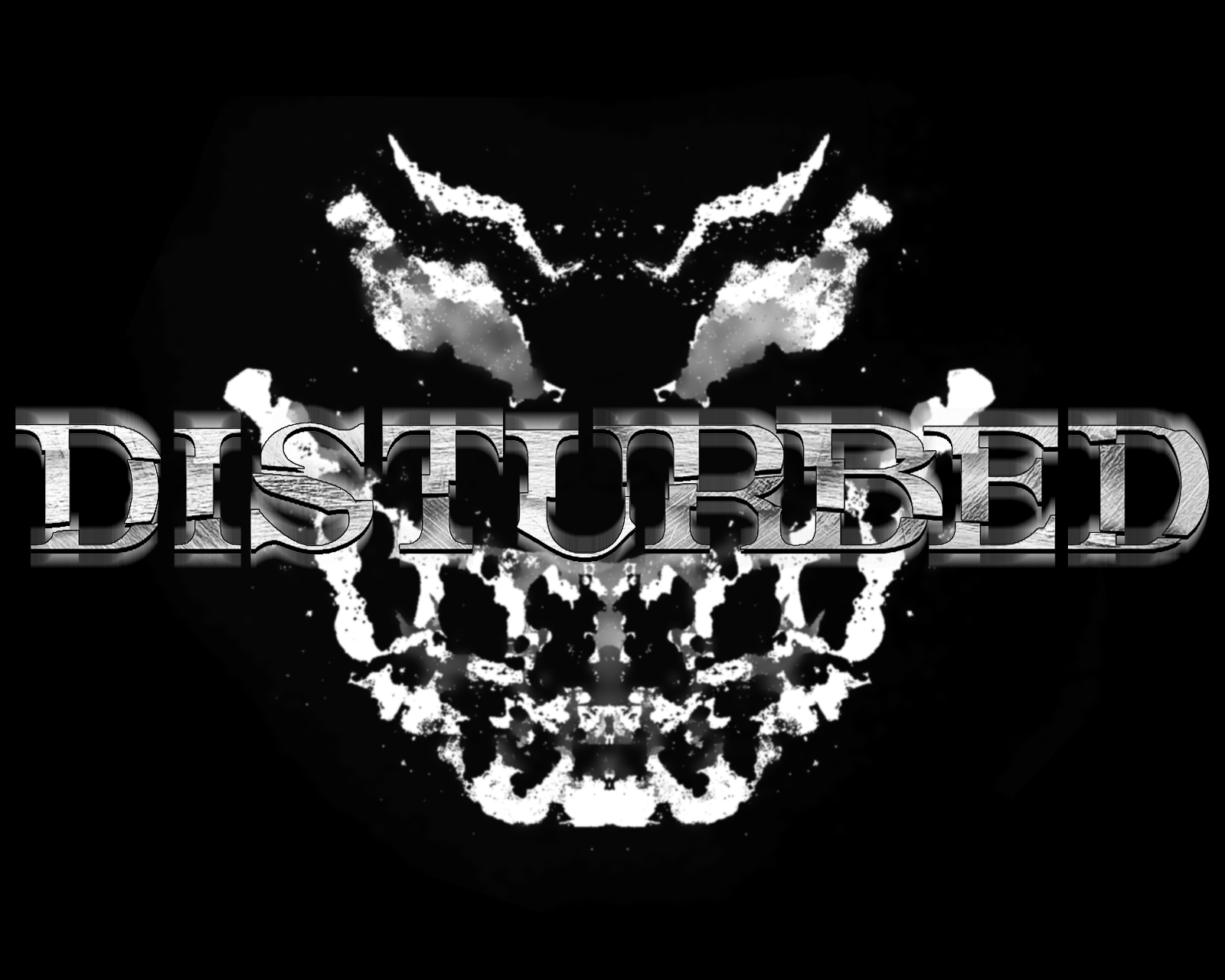 Pin Disturbed Wallpaper Logo on Pinterest