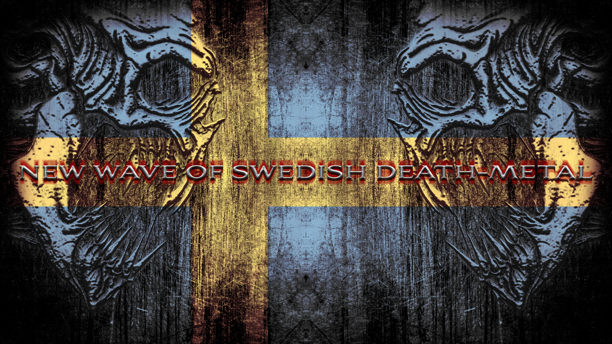New wave of swedish death metal by disturbedkorea on - Death metal wallpaper ...