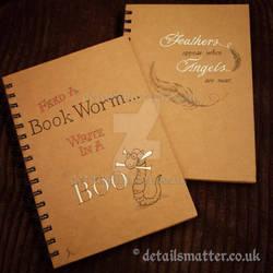 Illustrated notebooks