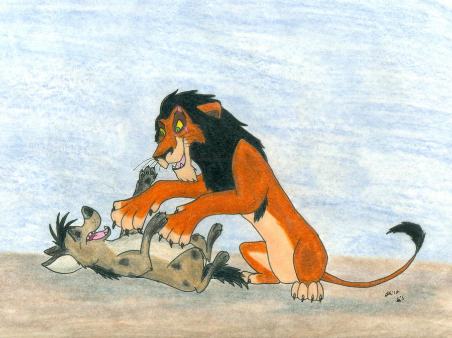 Scar and Shenzi by wahyawolf