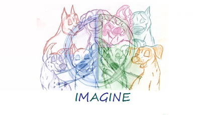 Imagine (Rough Storyboard/Music Video in Works) by SocksTheMutt