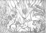Earth Day 2014 Rough Sketch by SocksTheMutt