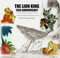 The Lion King 20th Anniversary by SocksTheMutt