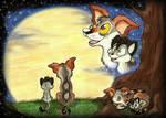 Watch the Moonrise by SocksTheMutt