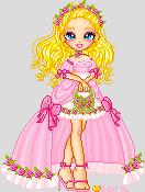 bridesmaid in pink by orenji-seira