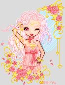 Golden Pink Love by orenji-seira