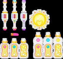 Heartcatch Precure pixel item by orenji-seira