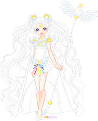 Sailor Cosmos by orenji-seira