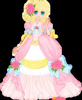 Pretty pink Princess by orenji-seira