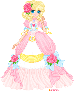 Pretty pink Princess by orenji-seira