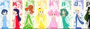 Sailor Moon Princesses