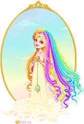 Iris: goddess of the rainbow by orenji-seira