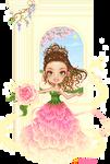 Fairy Esperanza: ballgown in springtime