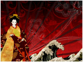 the geisha by DrewDahlman