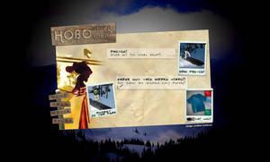 HoboShredWear.com  home page by DrewDahlman