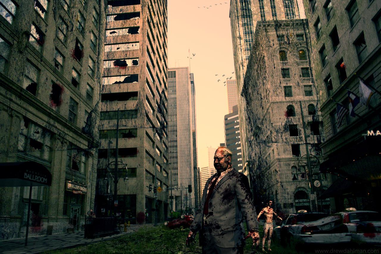 year 1 AH - Zombie Apocalypse by DrewDahlman on DeviantArt