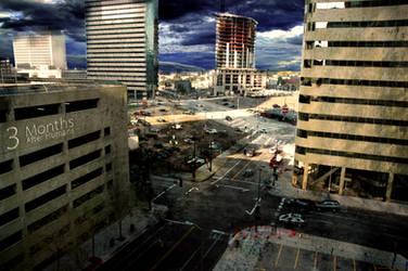3 Months - Zombie Apocalypse by DrewDahlman