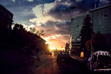 1 Month - Zombie Apocalypse by DrewDahlman