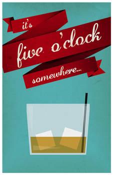 It's five o'clock somewhere...
