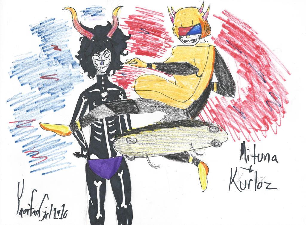 Mituna and Kurloz by FlorenticWaver on deviantART Mituna And Kurloz