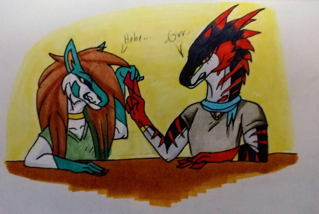Friendly (Not really) game of Exploding Kittens by Snowstorm416