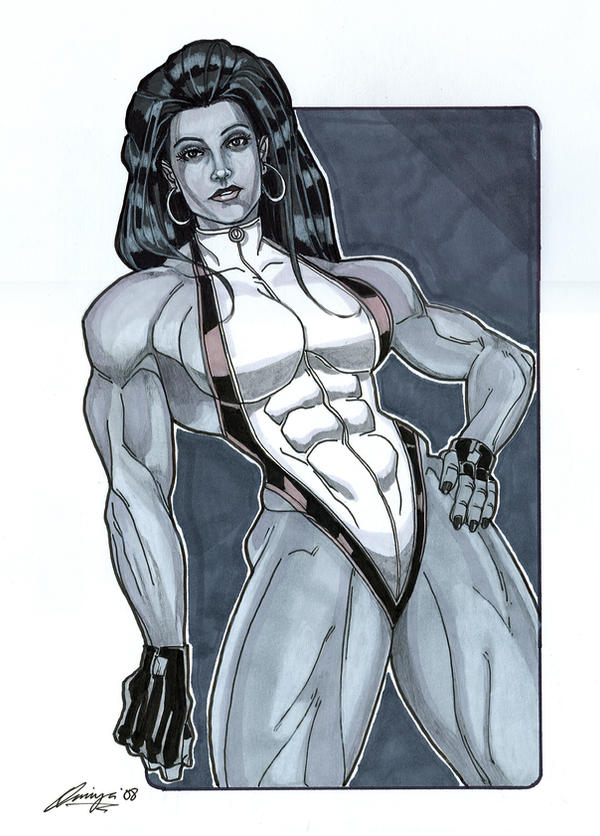 She Hulk 2 11 x 14 by Amiya by Barracuda9999