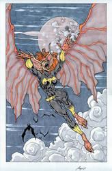 man-bat girl 2nd commission