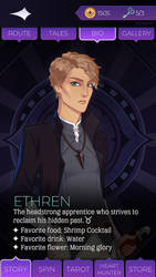 Ethren Whitecross Grimoire Page by Taurrigan