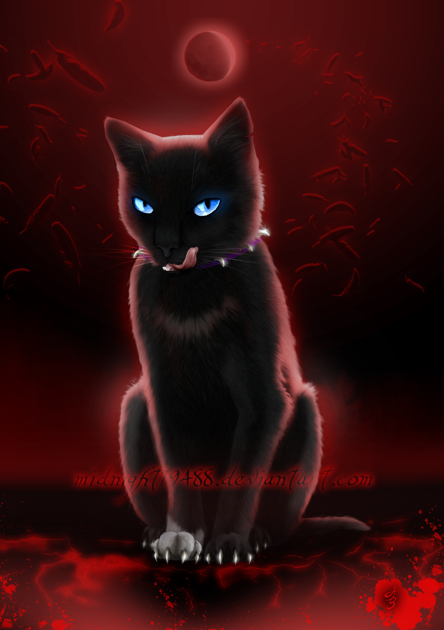 Warrior Cats - Scourge by Midnight19488