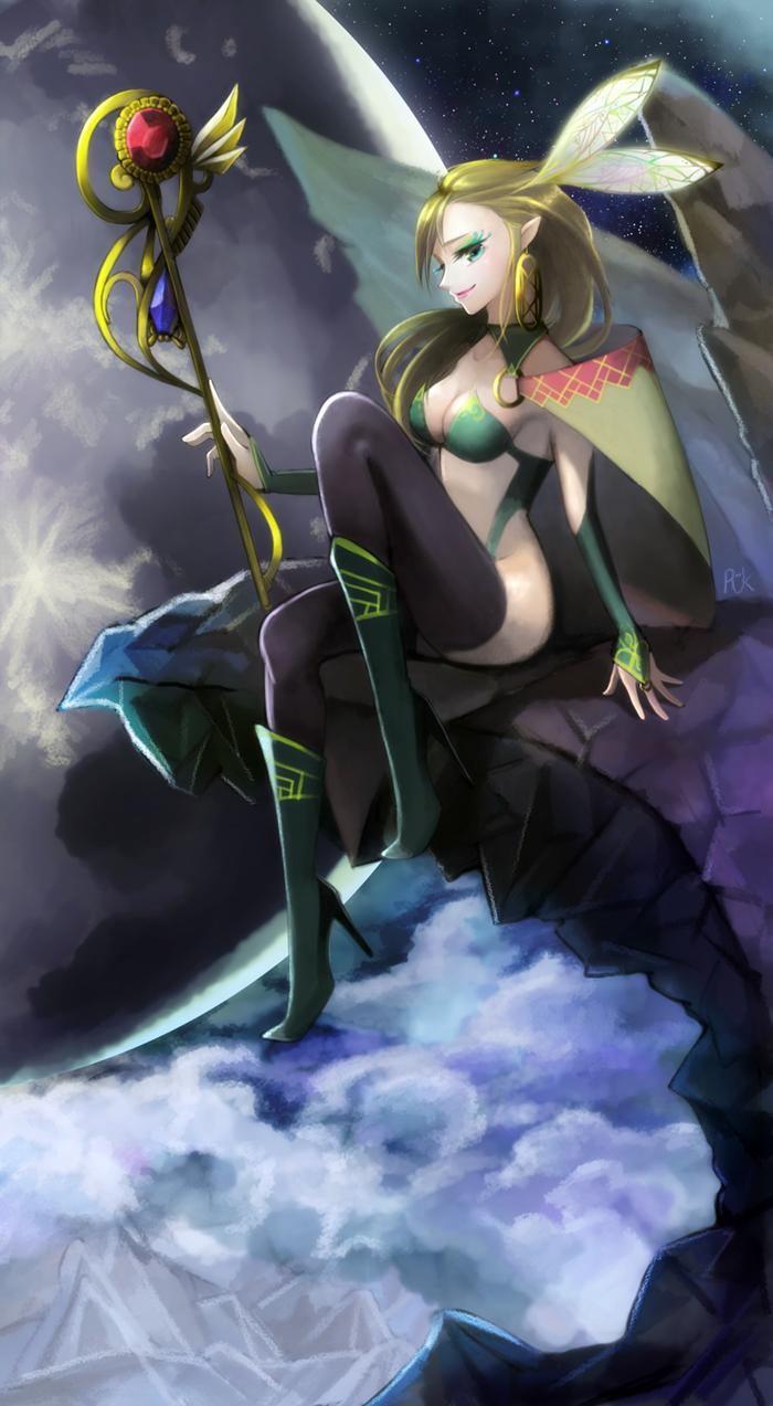 Fairy Magician by Kkokkal