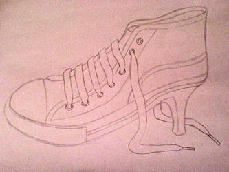 Heel Converse by EvilRemnant